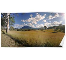 Mt Barney Panorama Poster