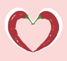heated love chilli heart by Gema Sharpe