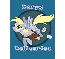 Derpy Deliveries Photographic Print