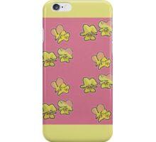 Pink and Yellow Primrose Pattern iPhone Case/Skin