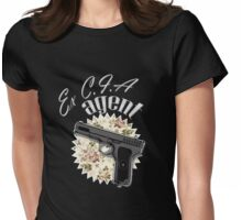 Ex CIA Agent Womens Fitted T-Shirt