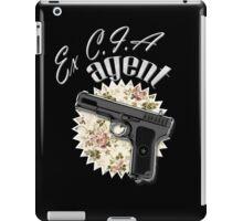 Ex CIA Agent iPad Case/Skin