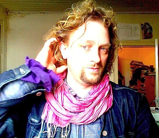 Mr Dandy Purple goes Pink....ok needs a hair wash....6/6/10 by tim norman