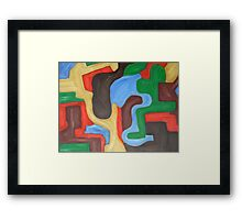 ABSTRACT 441 Framed Print