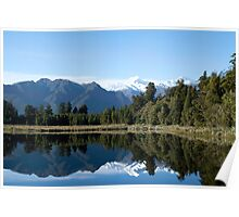 Lake Matheson Poster