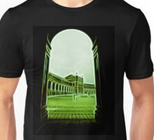 plaza de espana seville green neon lights Unisex T-Shirt