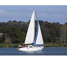 Bi Loup in the Foleux regatta Photographic Print