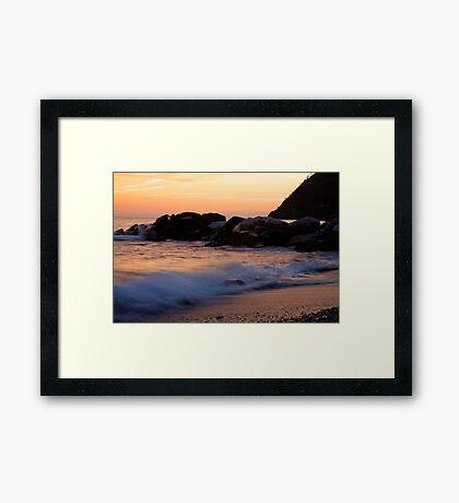 Italian sunsets Framed Print