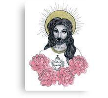 Drag Jesus Canvas Print