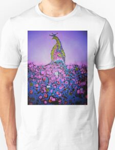 Rainbow Peacock Unisex T-Shirt
