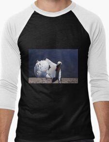 Astley Swan #1 Men's Baseball ¾ T-Shirt