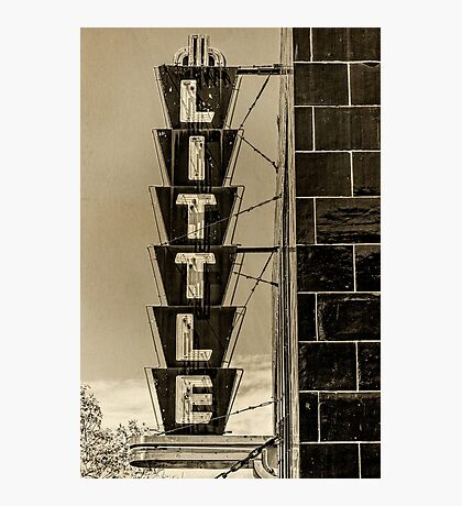 the little theatre Photographic Print