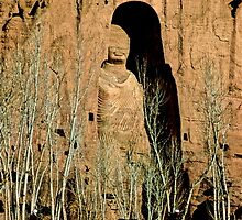 Great Buddha of Bamiyan, Afghanistan by yoshiaki nagashima