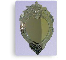 Heart Mirror Canvas Print