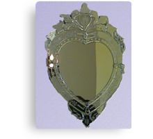 Heart Mirror Canvas Print