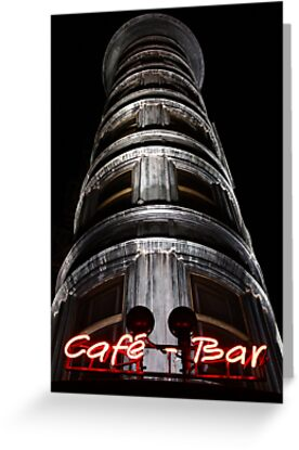 the Columbus Tower Cafe - Bar by fototaker