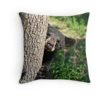 Oh!  Hi There Throw Pillow