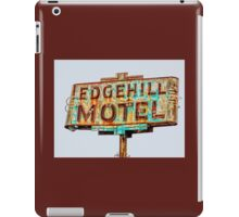 edgehill motel iPad Case/Skin