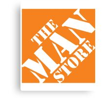 The Man Store Canvas Print