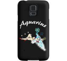 AQUARIUS...modernized Zodiac symbol! Samsung Galaxy Case/Skin