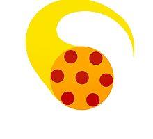 Pizza Girl Symbol by jpmeshew