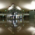 Barcelona's airport by fototaker