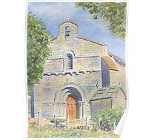 Chapelle des Templiers, Malleyrand, France Poster