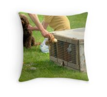 That'll Get Them Going !!! Throw Pillow