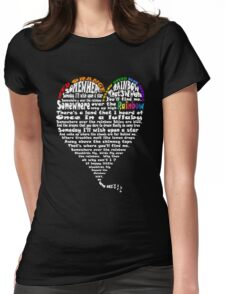 Over the Rainbow Womens Fitted T-Shirt