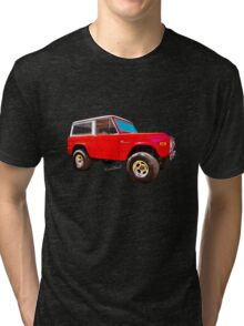 Ford Bronco Classic from VivaChas Hot Rod Art Tri-blend T-Shirt