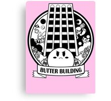 Kirby - Butter Building Canvas Print