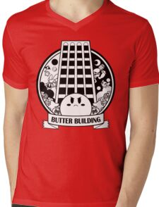 Kirby - Butter Building Mens V-Neck T-Shirt