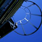 Ladder Circle Sky Abstract Architectural Photos to Buy by Toby Davis