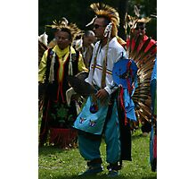 Male Pow Wow Dancer Photographic Print