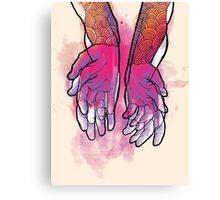 Dirty Hands Canvas Print