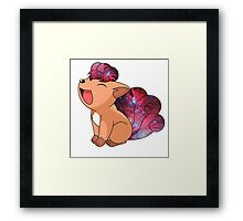 Vulpix - Pokemon Framed Print