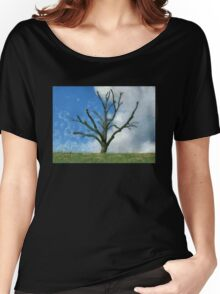Trimmed Tree Women's Relaxed Fit T-Shirt