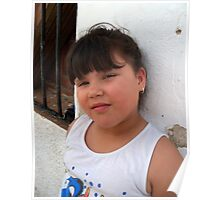 Little miss Latina. Poster