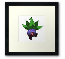 Oddish - Pokemon Framed Print