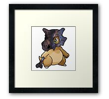 Cubone - Pokemon Framed Print