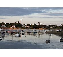 Harbour life in St. Marine Photographic Print