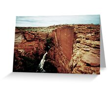 Kings Canyon Greeting Card