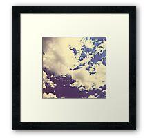 DREAM. Framed Print