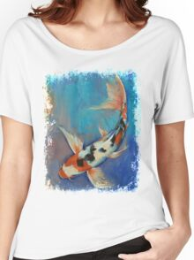 Sanke Butterfly Koi Women's Relaxed Fit T-Shirt
