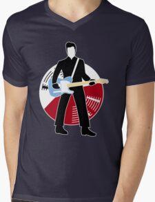 Jack The Axe-pander - Jack White III (Modern White Stripes Edition) Mens V-Neck T-Shirt