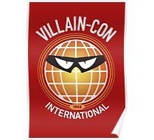 Villain-Con International Poster