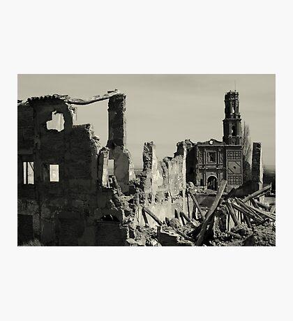Ruins of Belchite Photographic Print