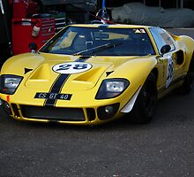 Ford GT40 by Andy Jordan