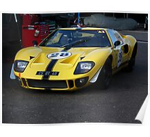 Ford GT40 Poster