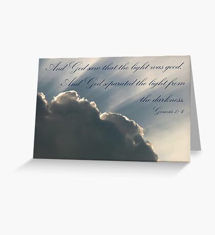 The First Day Greeting Card